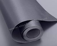 Пленка под карбон 3D темносерая (графит) CF air channel