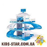 Детская парковка Гараж 3-этажный ARAL Wader (50420)
