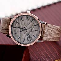 Наручные часы унисекс под дерево.Стильные наручные часы. Кварцевые часы