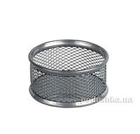 Подставка для скрепок круглая металлическая Axent 2113-03-A