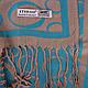 Замечательный женский двусторонний палантин из пашмины 174 на 70 см ETERNO (ЭТЕРНО) ES0406-8-27 бежевый, фото 2