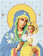 Схема для вышивки бисером Божия матерь Неувядаемый цвет