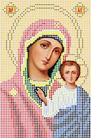 Схема для вышивки бисером Божия матерь Казанская