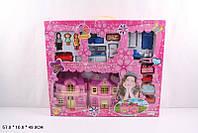 Кукольный дом 181 с куклами, мебелью