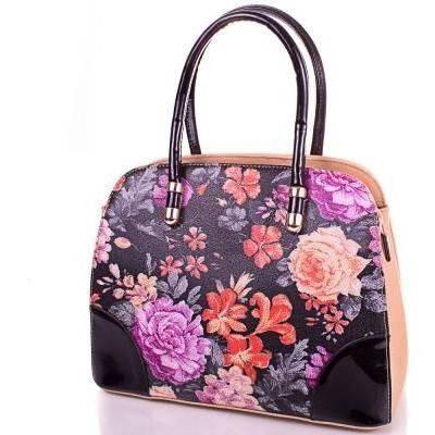 Женская бежевая сумка из качественного кожезаменителя ANNA&LI (АННА И ЛИ) TUP14146-12