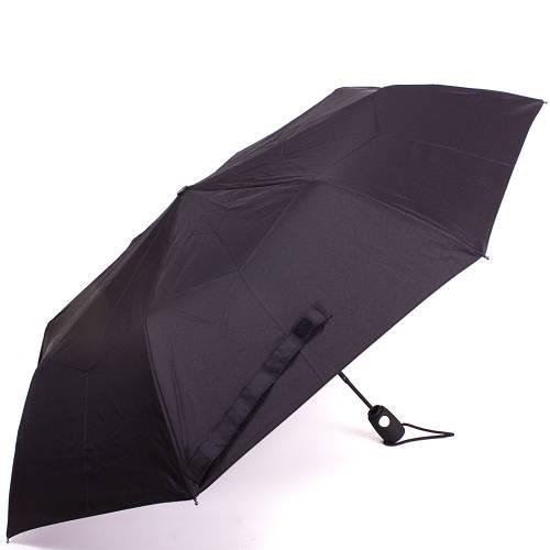 Зонт классический мужской полуавтомат AIRTON (АЭРТОН) Z3610 черный, антиветер