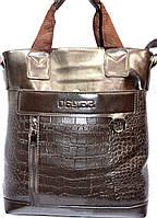 Надежная мужская сумка на плечо. отличное качество. Большой размер. Барсетка-сумка. Купить онлайн. Код: КДН524