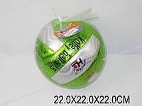 Мяч волейбол, в сетке 22х22х22 /120-2/(K109-20)