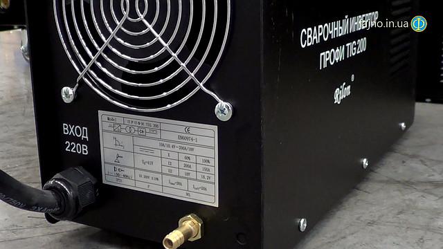 Инверторный сварочный аппарат для аргоннодуговой сварки Rilon TIG 200 Профи
