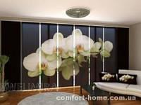 Панельная штора Замечательные орхидеи комплект 8 шт