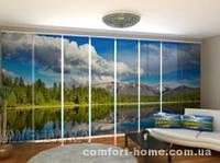 Панельная штора Красивый Алтай комплект 8 шт