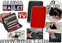 Кошелек водостойкий алюминиевый Aluma Wallet Алюма Уолет