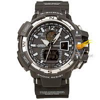 Спортивные часы Casio G-Shock GW-A1100 Black-Silver (Касио)