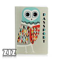 Обложка для паспорта Стильная сова