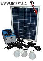 Автономный Аккумулятор Бесперебойного Действия на Солнечной Батарее ― Solar Home System GDLite(Liting) GD-8018