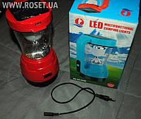 Кемпинговый LED Фонарь-лампа Sihang SH 3280 с Солнечной батареей