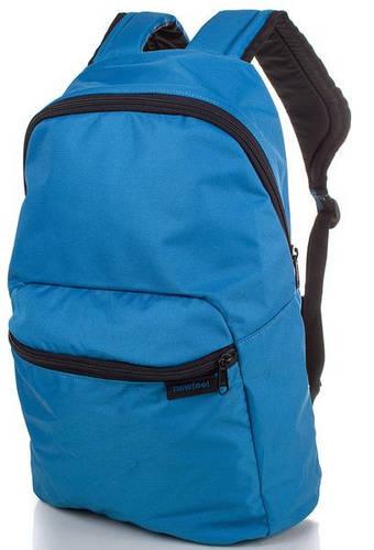 Практичный молодежный городской рюкзак 10 л. NEWFEEL (НЬЮФИЛ) ARP002-6 (синий)