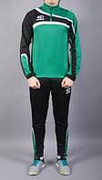 Костюм тренировочный Europaw TeamLine зелено-черный