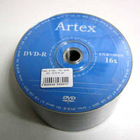 Диск Artex  4.7Gb  - 16x  (bulk 50)   DVD-R
