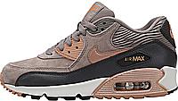 Женские кроссовки Nike Air Max 90 (найк аир макс 90) коричневые