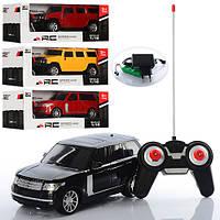 Машинка джип на радиоуправлении 84-15A-16A: 25 см, пульт ДУ, свет, коробка 34х14х12,5 см, 2 вида