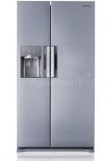 Холодильник з морозильною камерою Samsung RS7768FHCSL