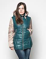 Женская удлиненная  демисезонная куртка  Letta