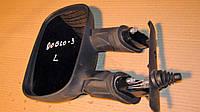 Зеркало левое Фиат Добло, Fiat Doblo механическое 2008г.в. 735419582