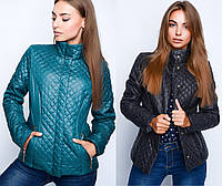 Стеганная женская короткая  куртка