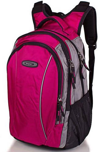 Женский легкий рюкзак 25 л. ONEPOLAR (ВАНПОЛАР) W1371-rose (розовый)