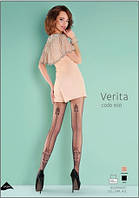 Колготы, колготки женские сзади с рисунком Gabriella VERITA 20 den