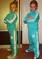 Утепленный костюм Адидас ментол для детей