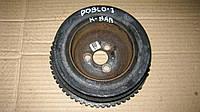 Шкив коленвала Фиат Добло 1.4 / Fiat Doblo 2008г.в. без конд. DPV1036 / 55181189