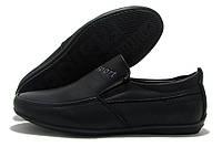 Туфли детские для мальчика Kimbo-o Sport черные матовые 26-31р.