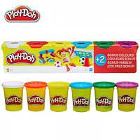 Набор Play-Doh масса для лепки 6 баночек