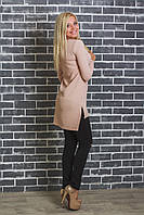 Модная женская туника беж