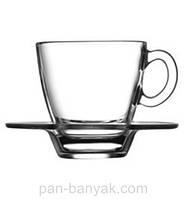 Aqua Набор кофейный 12 предметов 60мл d5,5 см h5,9 см стекло Pasabahce