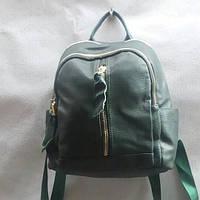 Рюкзак на два отделения с кожаными вставками
