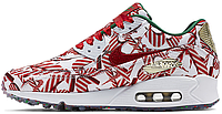 Женские кроссовки Nike Air Max 90 Premium (найк аир макс 90) белые