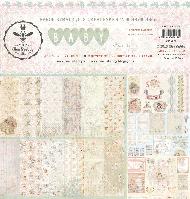 Набор бумаги от Bee Shabby - Baby, 30x30 см, 9 листов