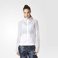Куртка для бега женская adidas Run Transparent Jacket AP8439 - 2016/2