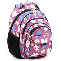 Школьный ортопедический рюкзак для девочки Dolly 583 розовый, фото 1
