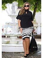 Женская нарядная блуза Новэлла до 72 размера