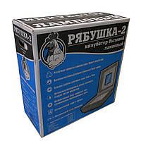 Компактный бытовой инкубатор Рябушка-2, 70 яиц + механический переворот