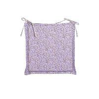 "Подушка на стул ""Цветы-Лаванда"" с ушками 40х40 см"