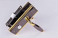 Ручка-защёлка YPN бронза (круглая ручка в точку) 04/ВК115-L118