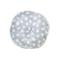 Подушка декоративная круглая Allure Горох
