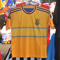 Детская футбольная форма сборной Украины (желто-синяя)