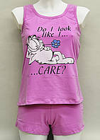 Женская пижама (майка и шорты) из хлопка Ego