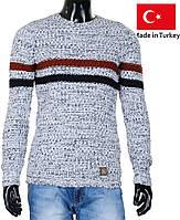 Модный мужской свитер.Молодежные свитера.